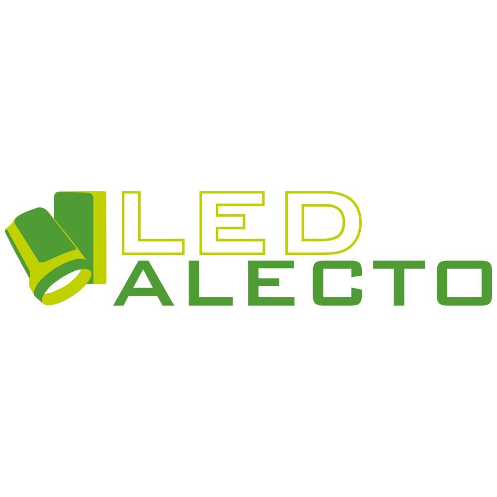 9585 - Alecto LED Dimmable Track Spot-Light Black 25W 4000K