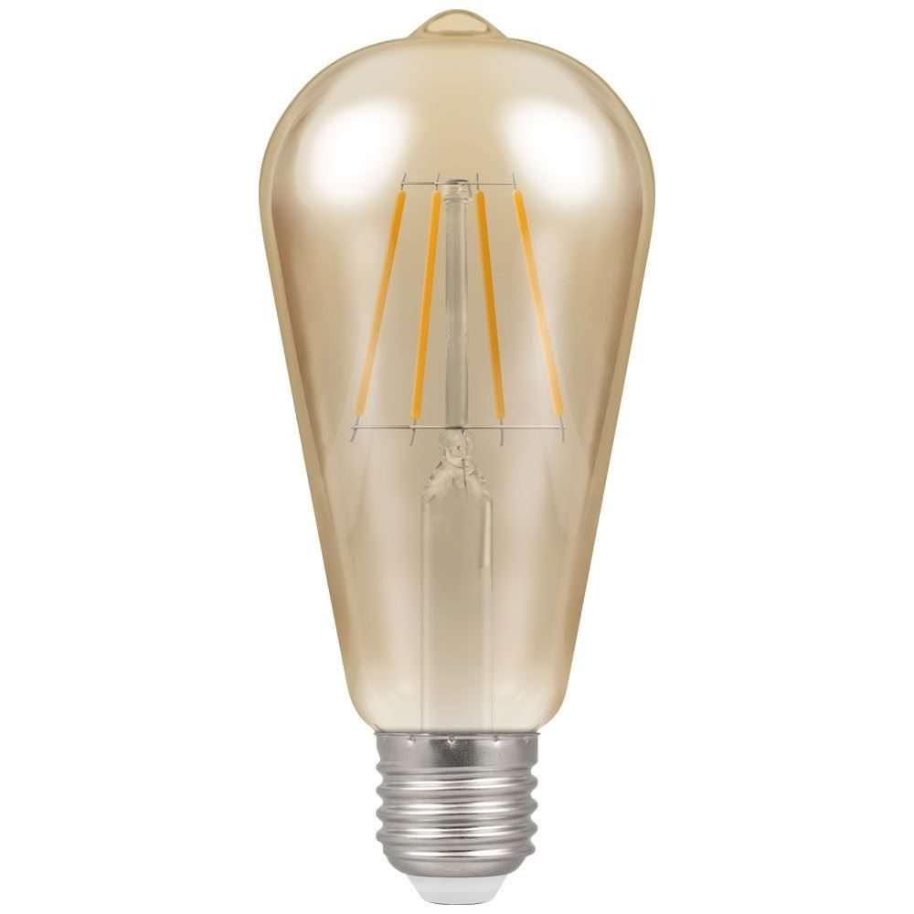4238 - LED ST64 Filament Antique 5W Dimmable 2200K ES-E27