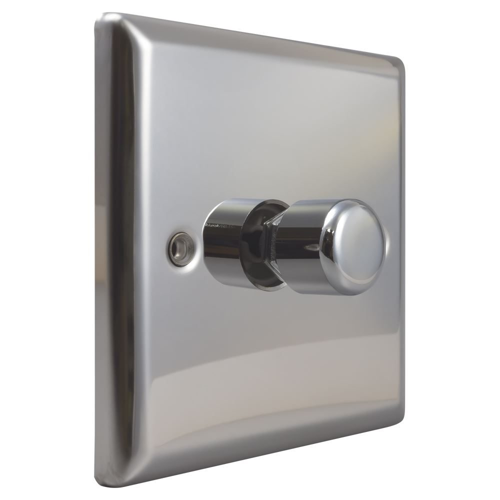 JCP401 - Varilight 1-Gang 2-Way Push on/off LED Dimmer
