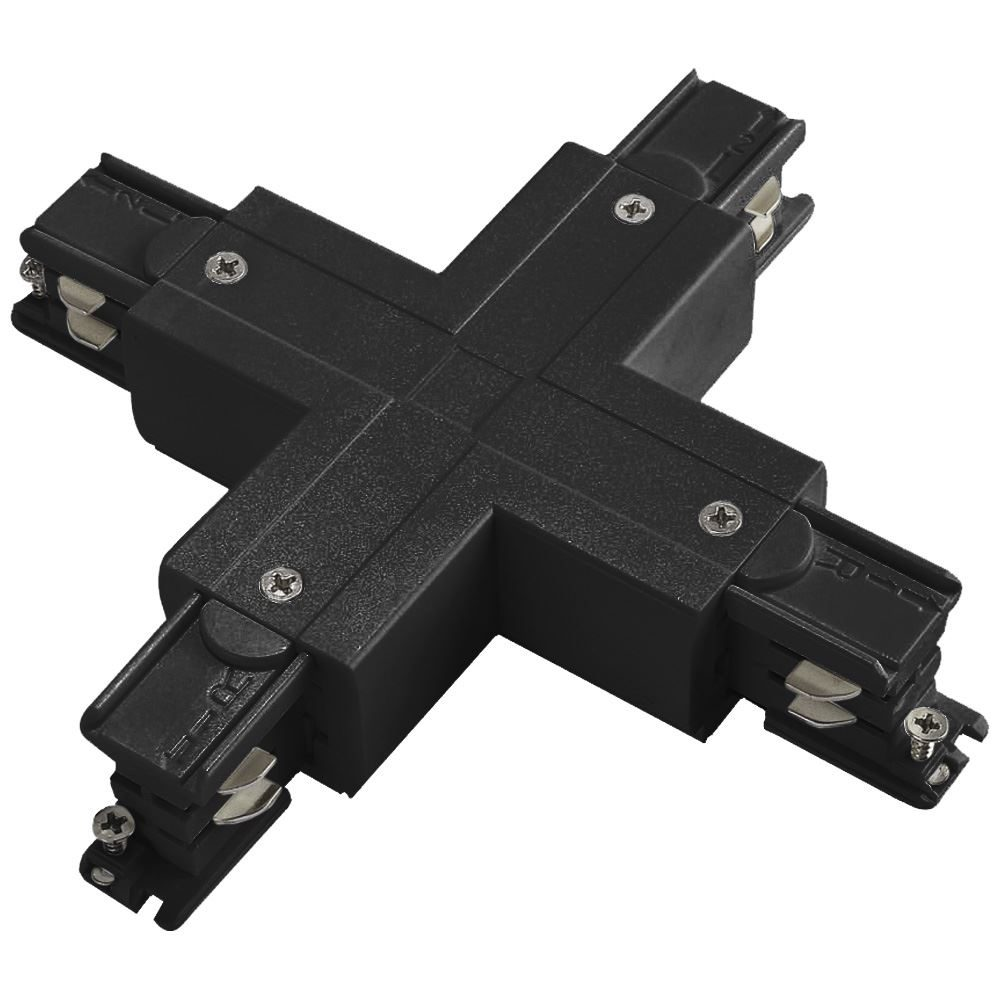 10918 - X Coupler For 3 Circuit Track Black