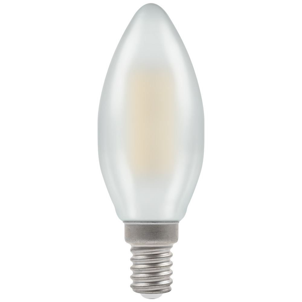 7208 - LED Candle Filament Pearl 5W Dimmable 2700K SES-E14