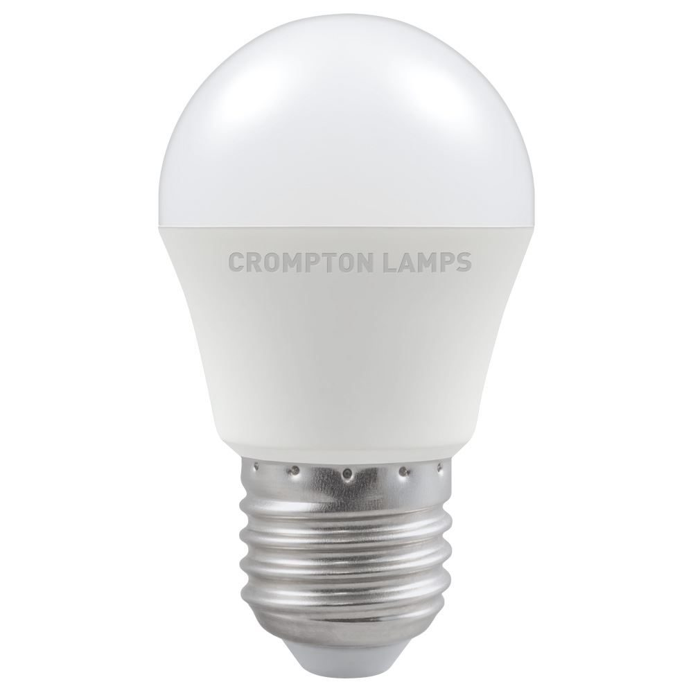 LED Round Thermal Plastic • Dimmable • 5W • 2700K • ES-E27