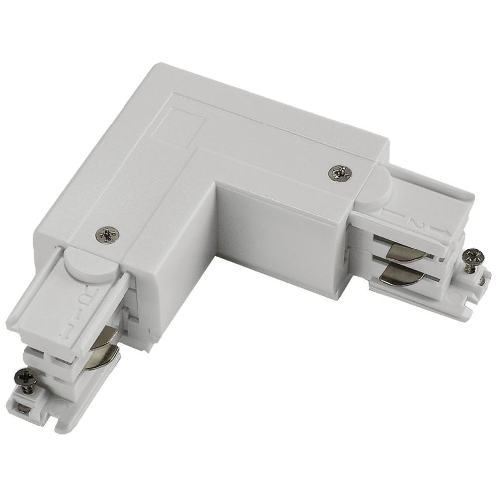 10734 - Right Coupler For 3 Circuit Track White
