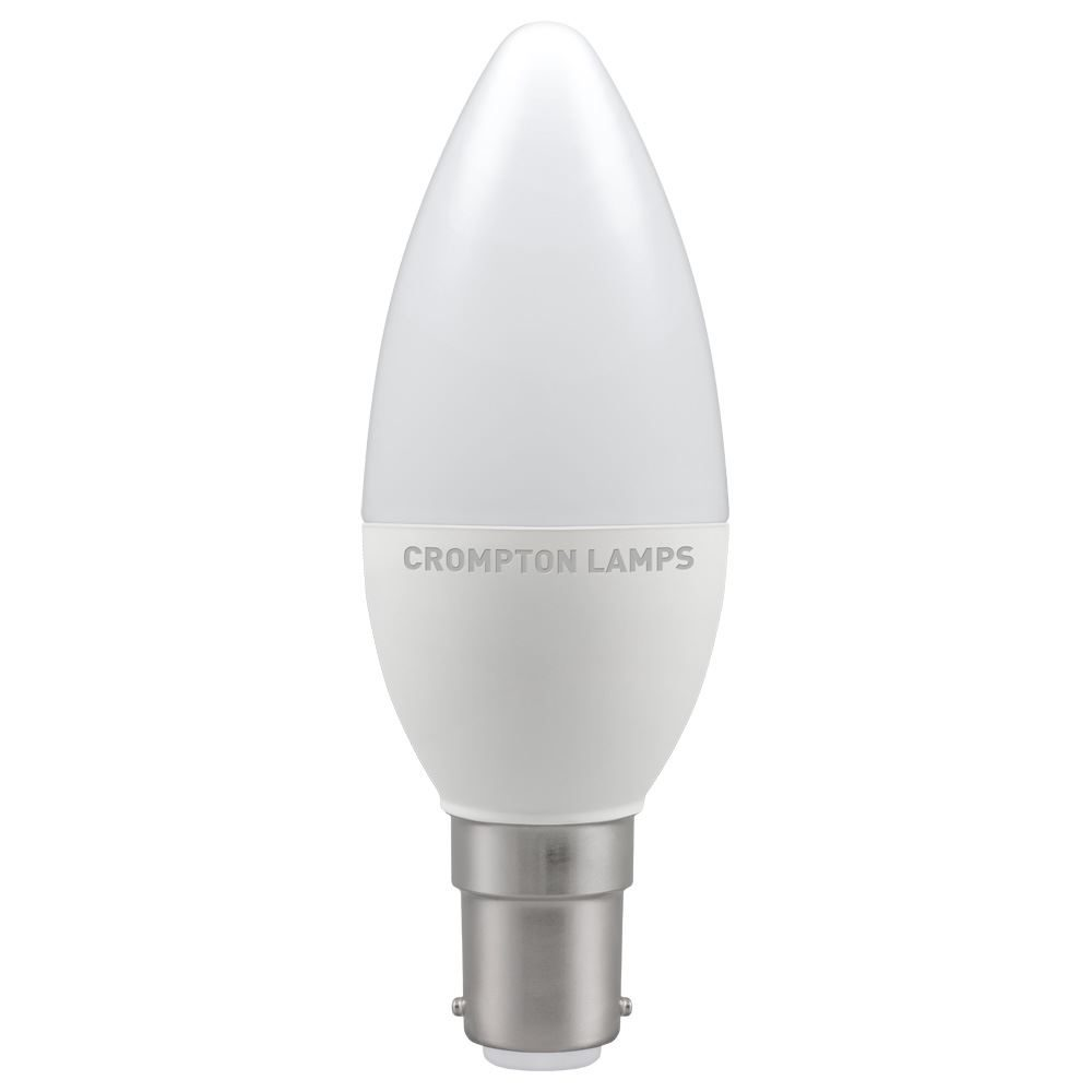 11403 - LED Candle Thermal Plastic 5.5W Dimmable 2700K SBC-B15d