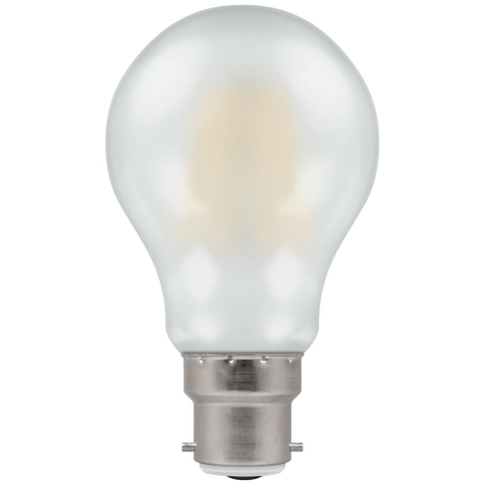 5952 - LED GLS Filament Pearl 7.5W Dimmable 2700K BC