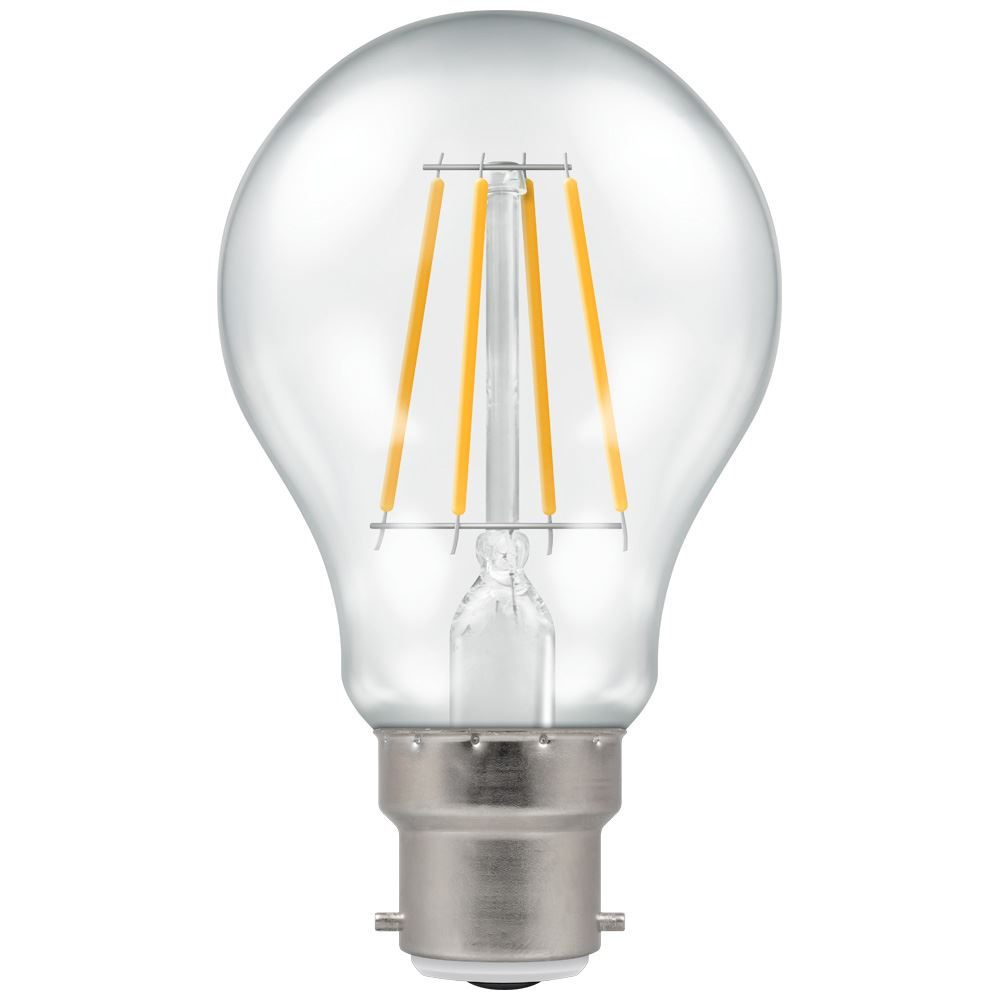 4184 - LED GLS Filament Clear 5W Dimmable 2700K BC-B22d
