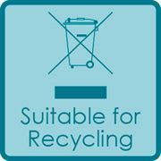 Suitable for Recycling