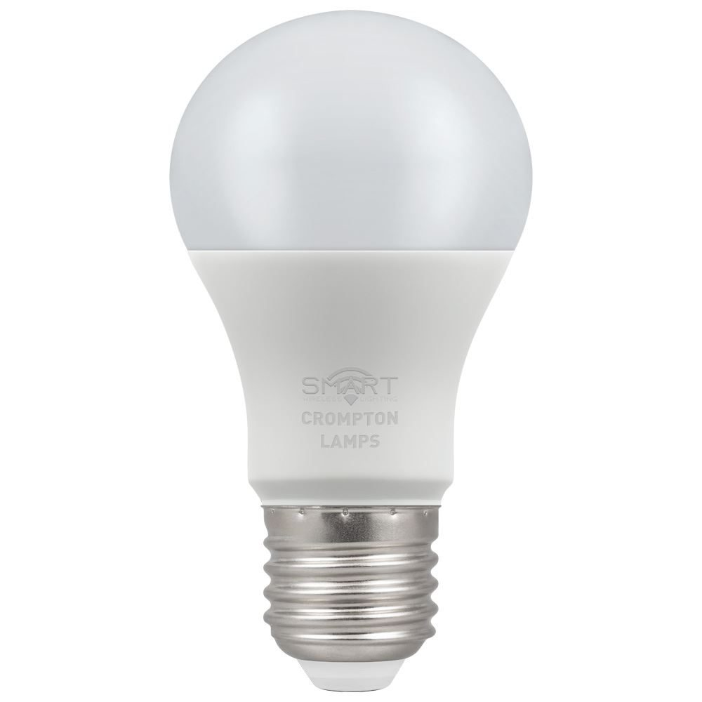 12332 - LED Smart GLS Thermal Plastic Dimmable 8.5W RGB+ 3000K ES-E27