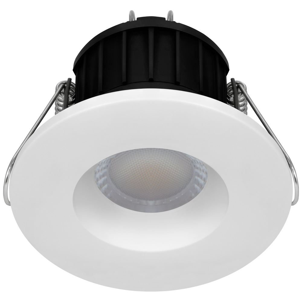 12639 - Firesafe LED All-in-One Downlight Dimmable 9W Tri-Colour Select