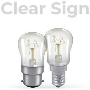 Traditional Clear Sign Thumbnail