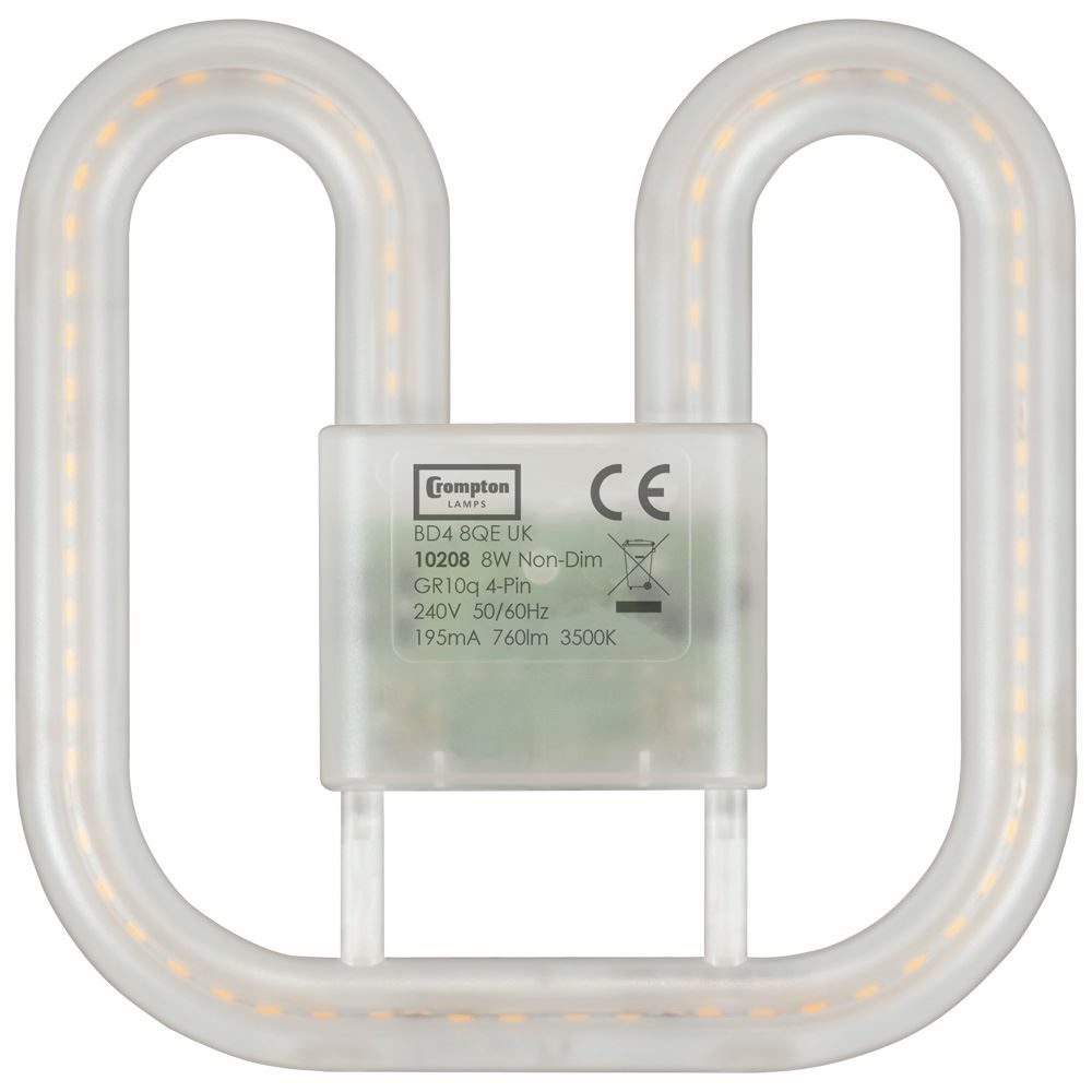 10208 - LED 2D Retrofit 8W 3500K GR10q 4-pin