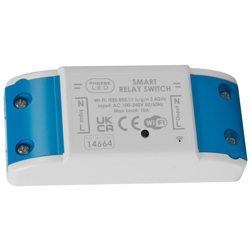 Smart Wi-Fi Controlled Relay Switch