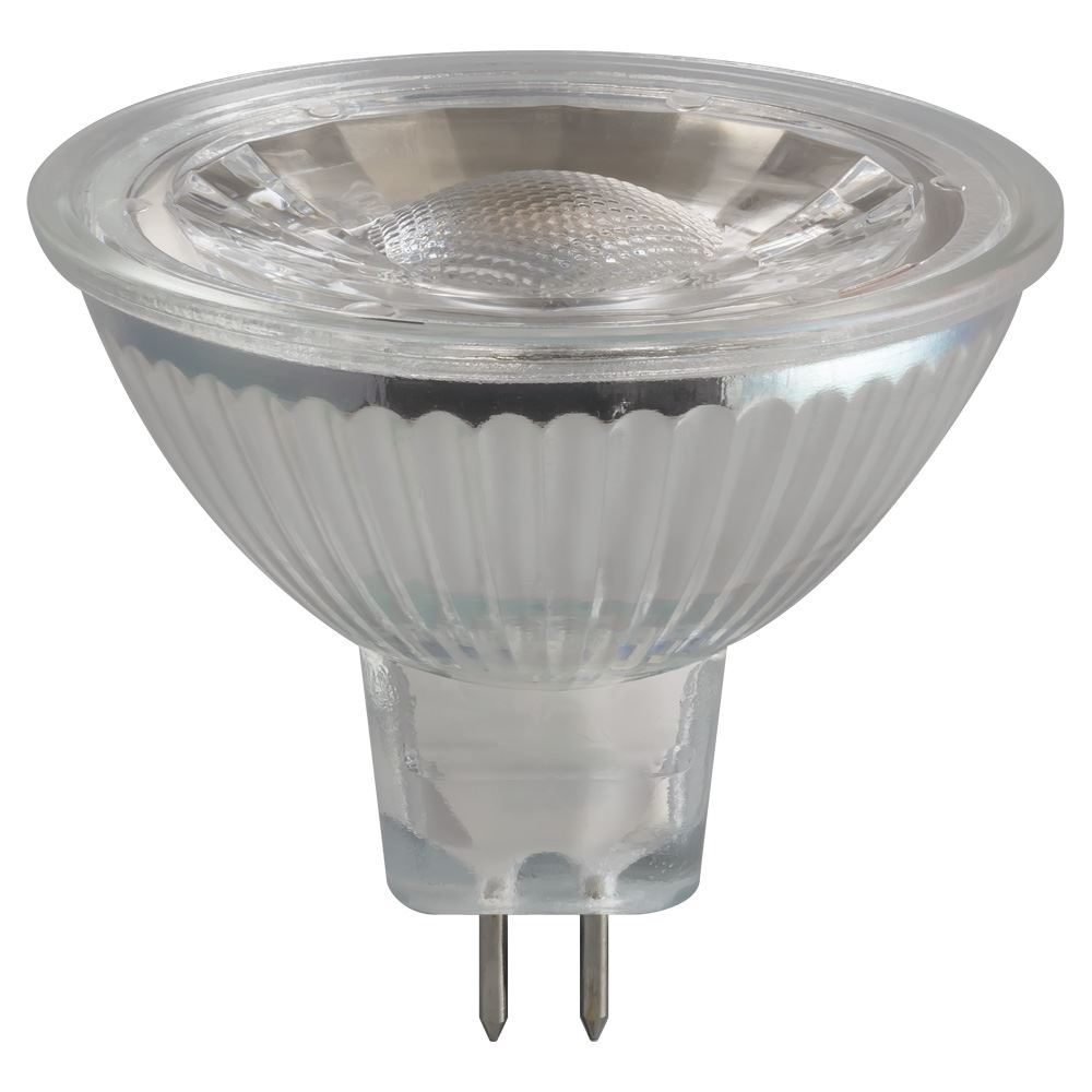 3309 - LED MR16 Glass COB 5W 12V 4000K GU5.3