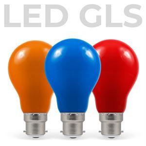 LED Coloured GLS
