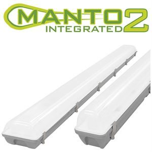 Manto Integrated 2 LED IP65 Fitting