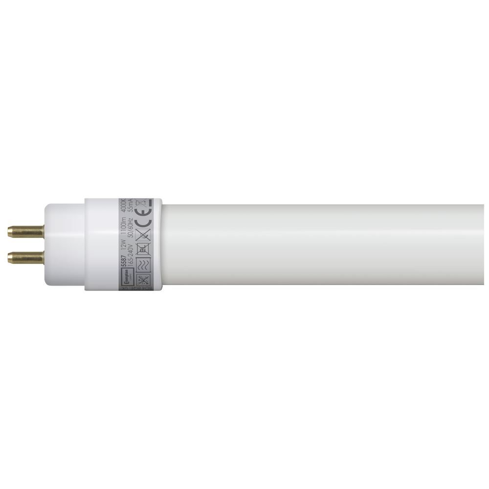 5587 - LED T5 Full Glass Tube 3ft / 849mm 12W 4000K G5
