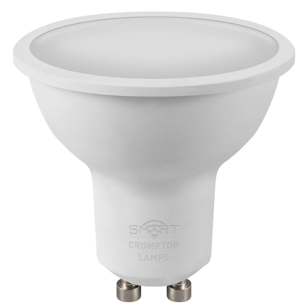 12400 - LED Smart GU10 Thermal Plastic Dimmable 5W RGB+ 4000K