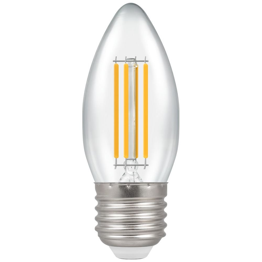 12776 - LED Candle Filament Clear 6.5W 2700K ES-E27