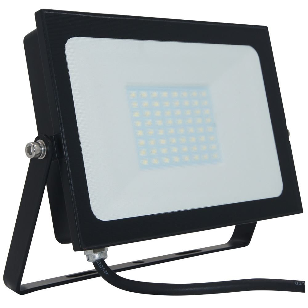 Atlas Mini 2 LED Floodlight IP65 Black 50w 3290lm-12585