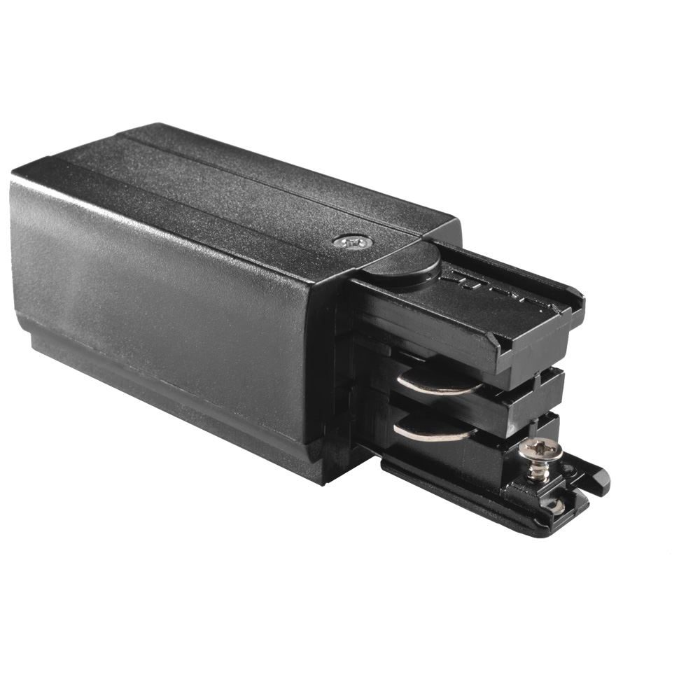 10864 - Right Live End Feed For 3 Circuit Track Black