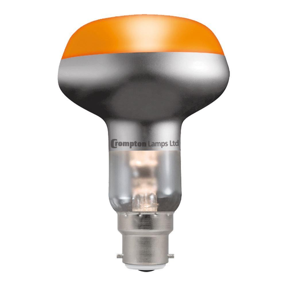 R80-INC-60W-Amber-BC-R8060ABC