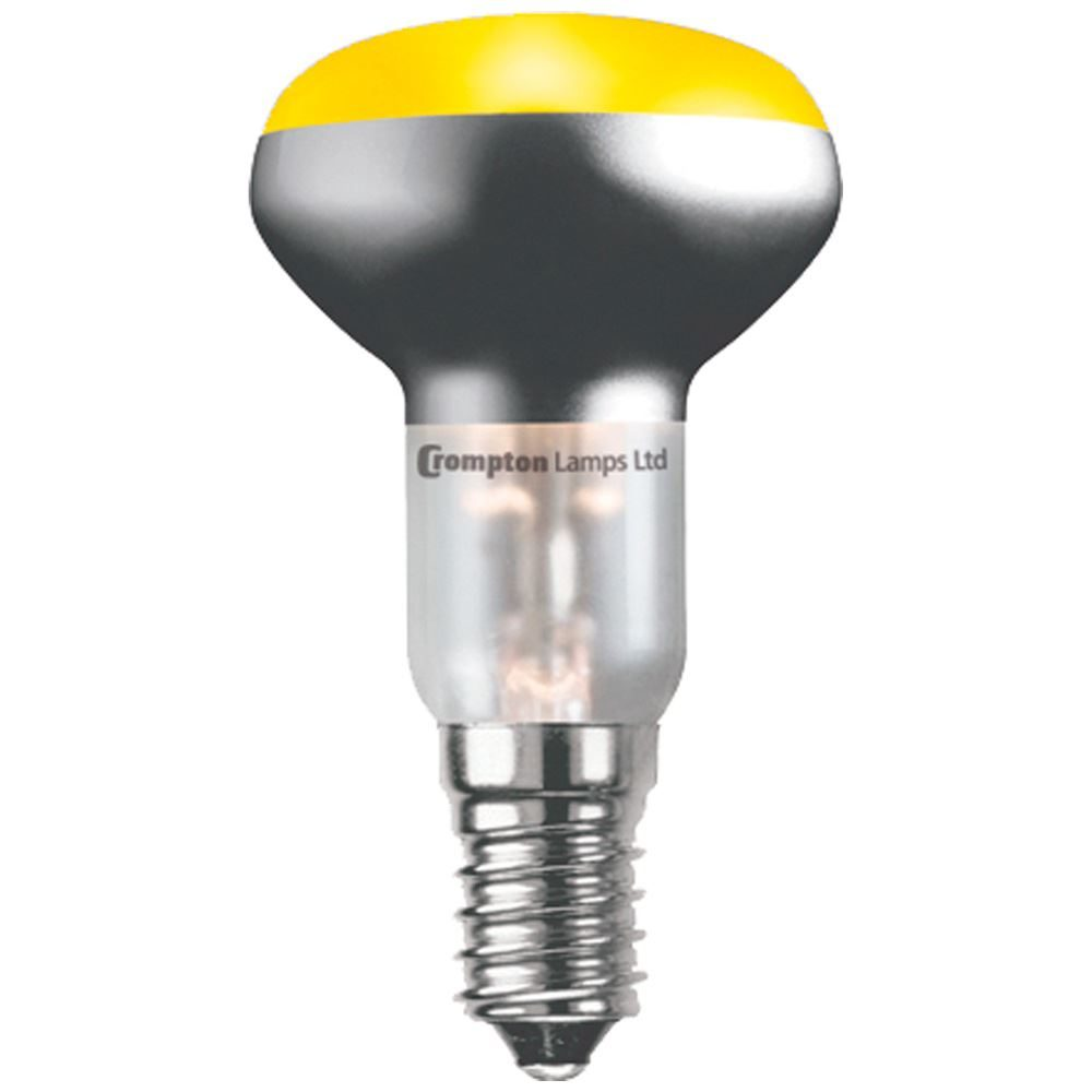 R5025YSES - Coloured R50 Reflector 25W Yellow SES-E14