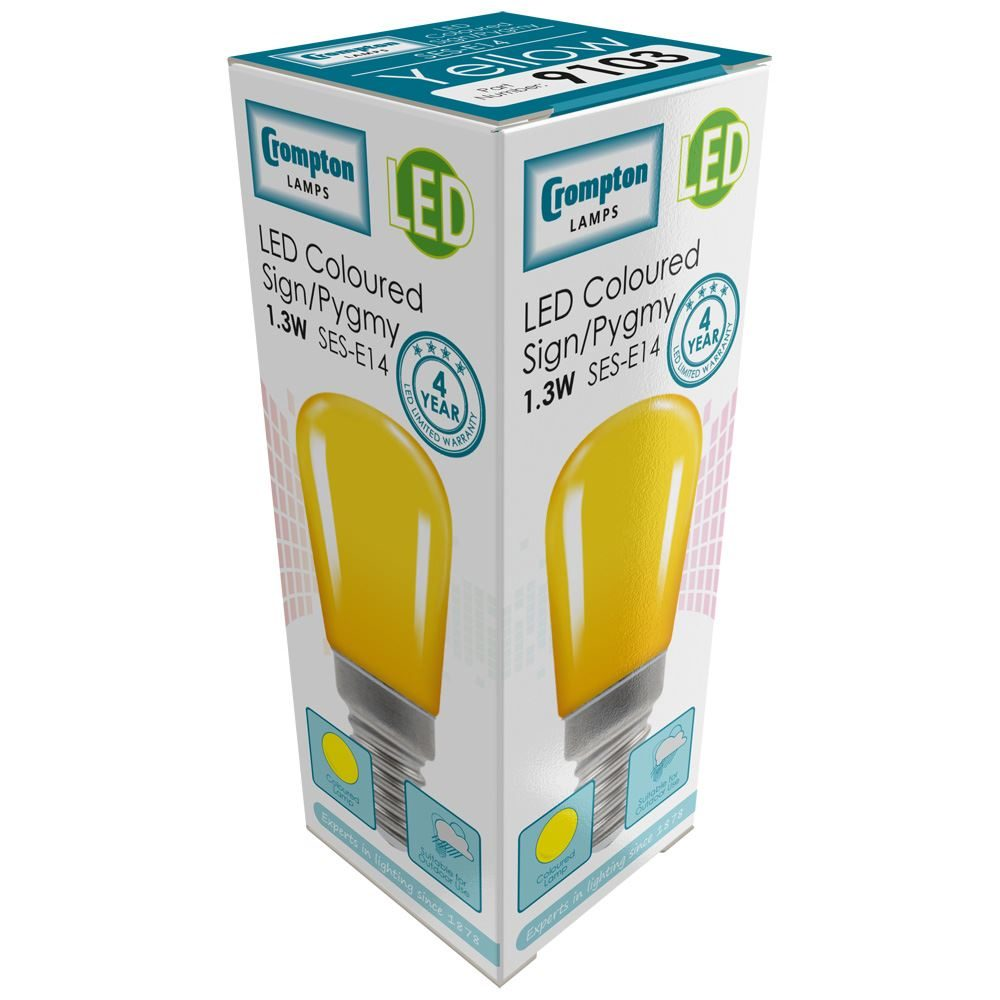 Sign-LED-1.3W-Yellow-SES-9103