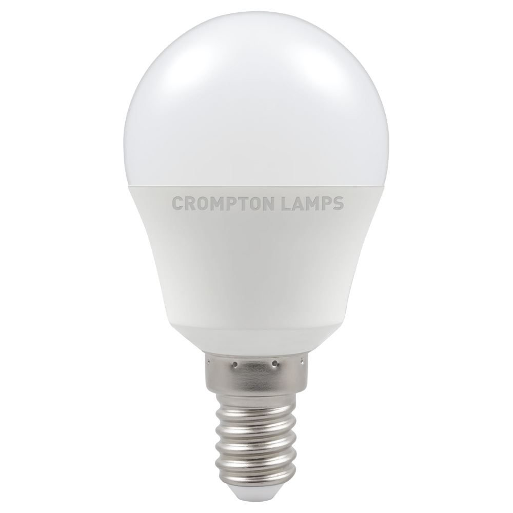 LED Thermal Plastic Round 5W 2700K Dimmable SES-E14