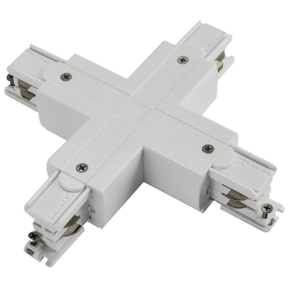 10741 - X Coupler For 3 Circuit Track White