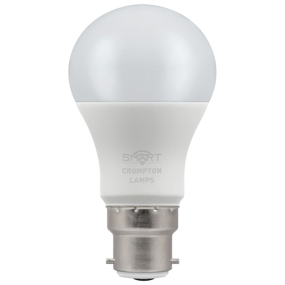 12325 - LED Smart GLS Thermal Plastic Dimmable 8.5W RGB+ 3000K BC-B22d